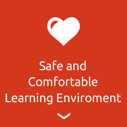 Safe and comfortable learning enviroment