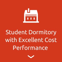 Student dormitory with excellent cost performance
